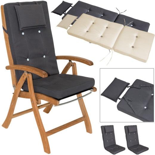 Stuhlauflage 2er-Set Hochlehner Vanamo 7cm