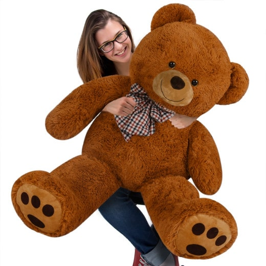 Plüschtier Teddybär XL braun