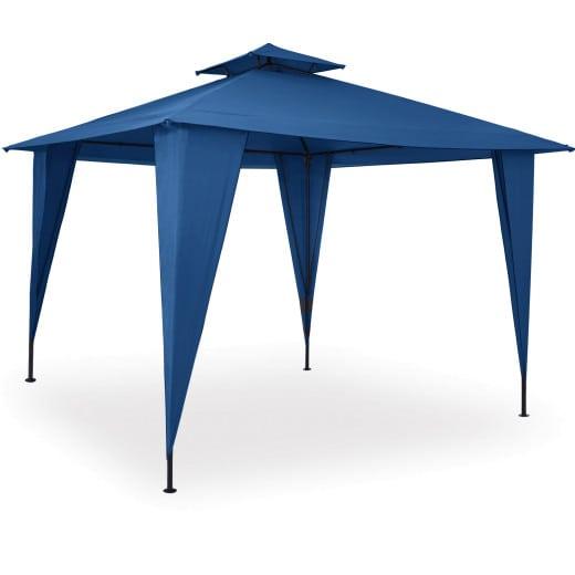 Pavillon in Blau 3,5x3,5m