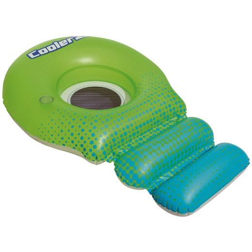 Bestway Schwimmliege Grün-Blau mit Netz