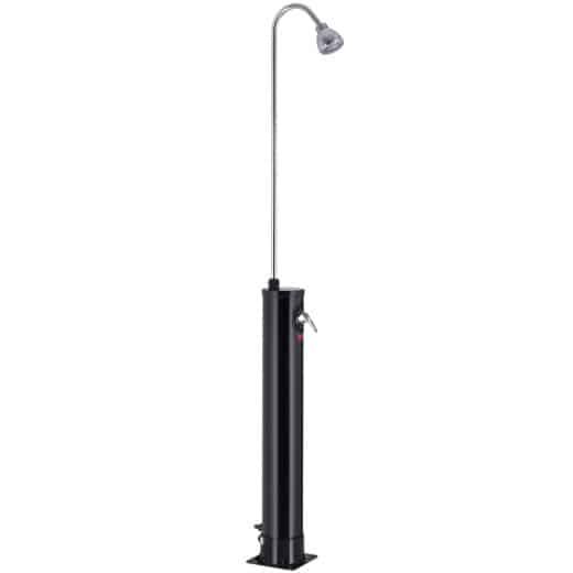 Solar Garden Shower 18L Black