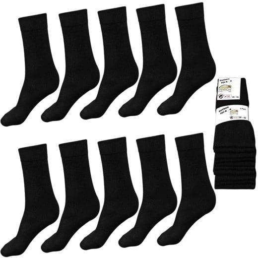 10 Paar Dr. Bieler Socken für Herren + Damen - Größen: 39-42