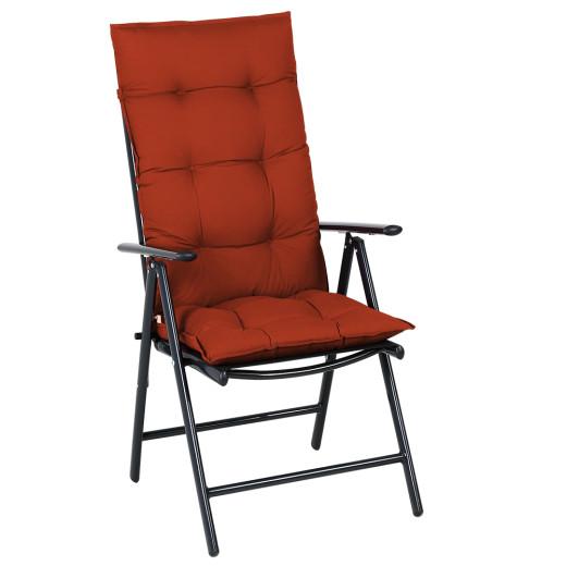 Sitzkissen 6er-Set Cozy Vanamo Terrakotta 129x53x10cm
