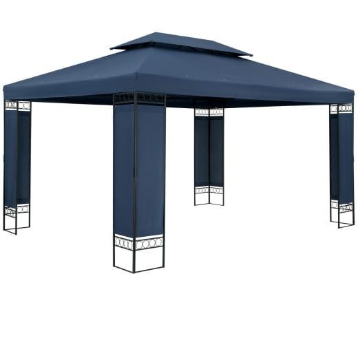 Pavillon Elda Blau XXL 3x4m