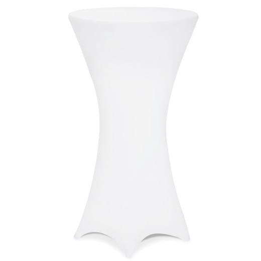 5er-Set Stehtischhusse in Weiß