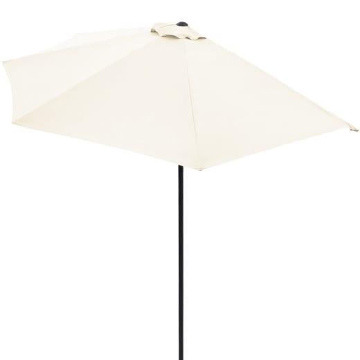Terrassen-Sonnenschirm Creme UV-Schutz 50+