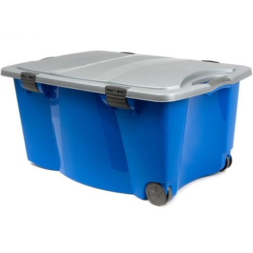 Allzweck-Rollbox Jumbo Blau/Grau 170L