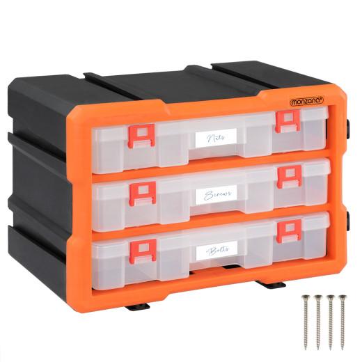 Kleinteileorganizer MW1803 29,5x16x19,5cm 36 Fächer