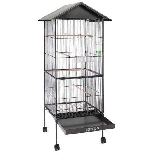 Vogelvoliere aus Metall 18 kg