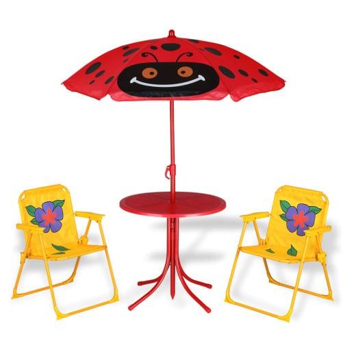 Kindersitzgruppe Beetle - 2 Stühle und 1 Tisch