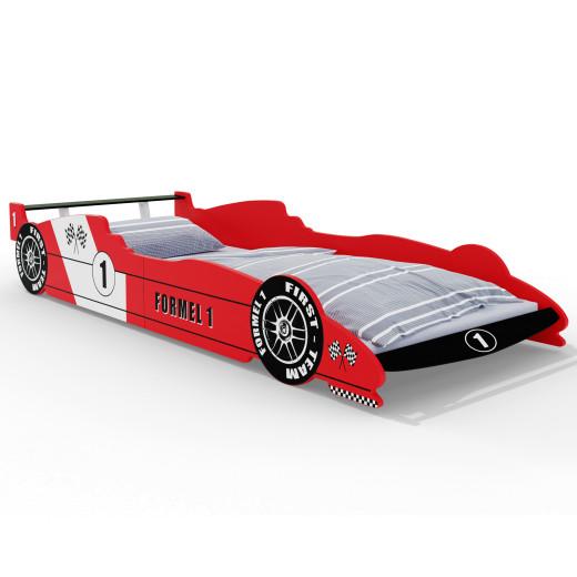 F1 Rennbett Rot