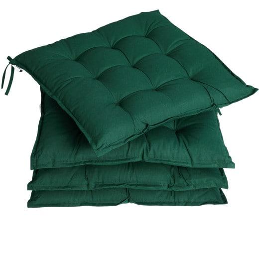 Sitzkissen 4er-Set Cozy Grün