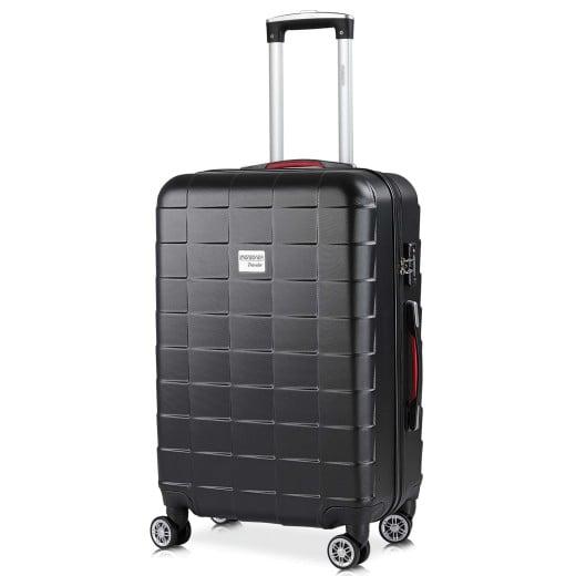 Koffer Hartschale Exopack Schwarz L aus ABS 80l 65x41x27cm