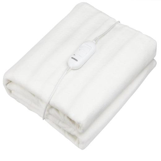 Heizdecke Wärmeunterbett Weiß 190x80cm