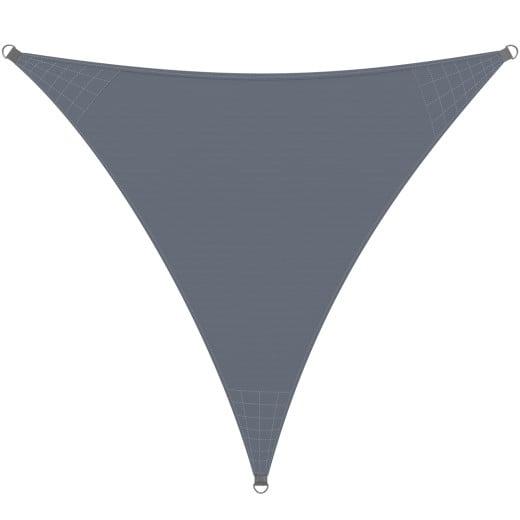 Sonnensegel Oxford Dreieck Anthrazit 5x5x5 m