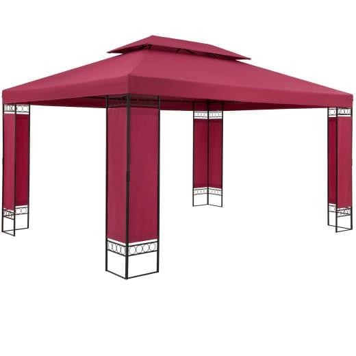 Pavillon Elda Rot XXL 3x4m