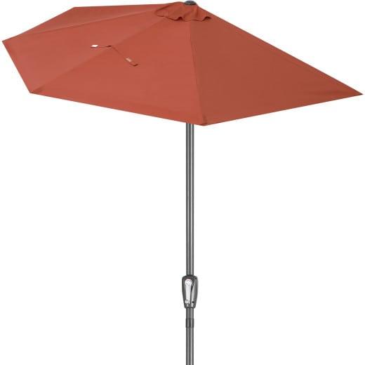Terrassen-Sonnenschirm Terrakotta UV-Schutz 50+