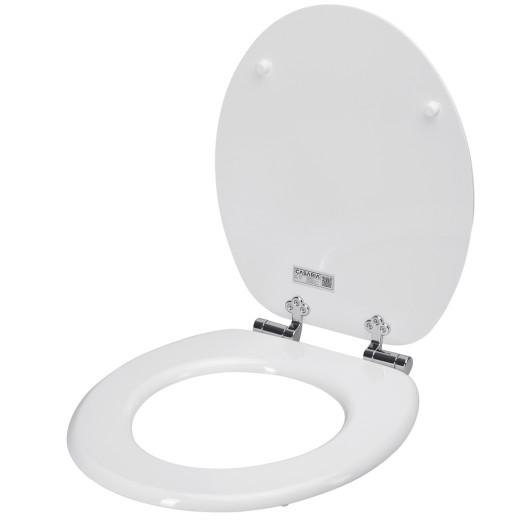 Toilettensitz Weiß