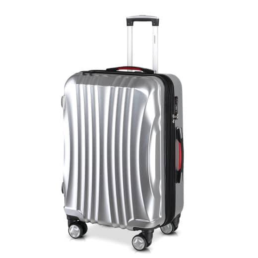 Koffer Hartschale Ikarus Silber XL aus ABS 105-154l 78x53x33cm