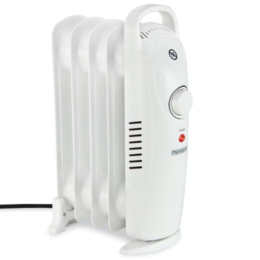 Öl Radiator Elektroheizung 5 Rippen 600W