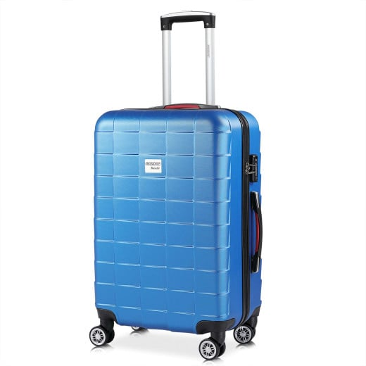 Koffer Hartschale Exopack Blau L aus ABS 80l 65x41x27cm