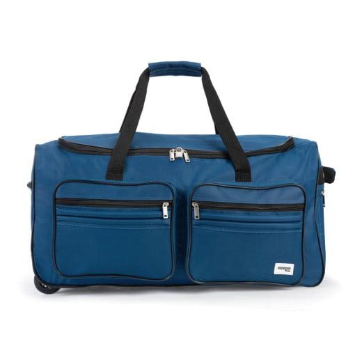 Rollenreisetasche Blau 85L