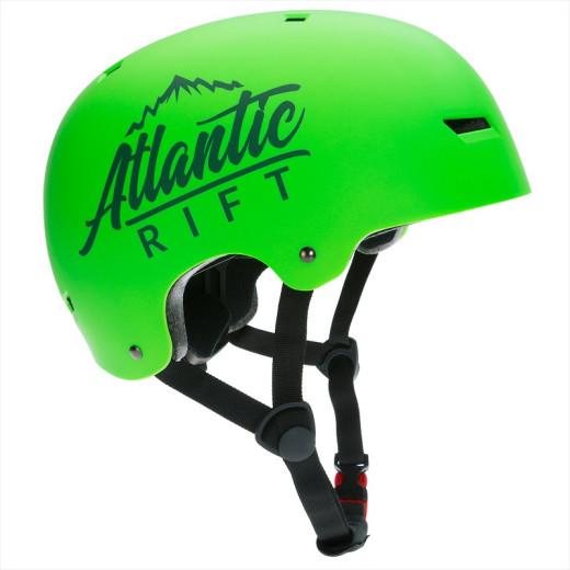 Atlantic Rift Kinder-/Skaterhelm Neongrün S verstellbar