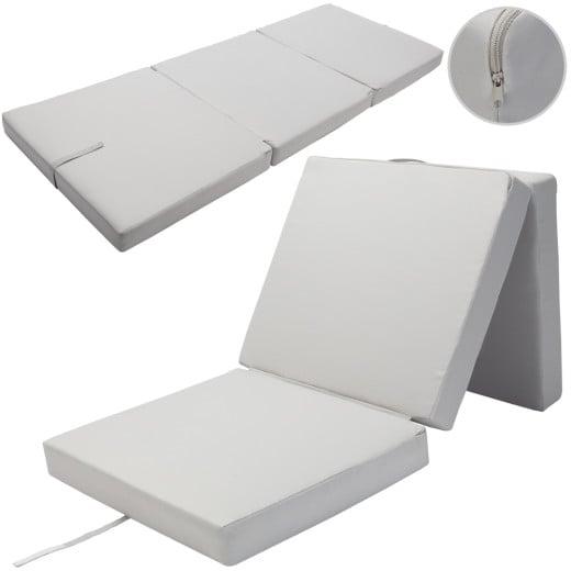 Matratze Grau 190x70x10cm faltbar