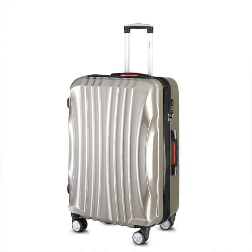 Koffer Hartschale Ikarus Champagner L aus ABS 38l 55x35x20cm