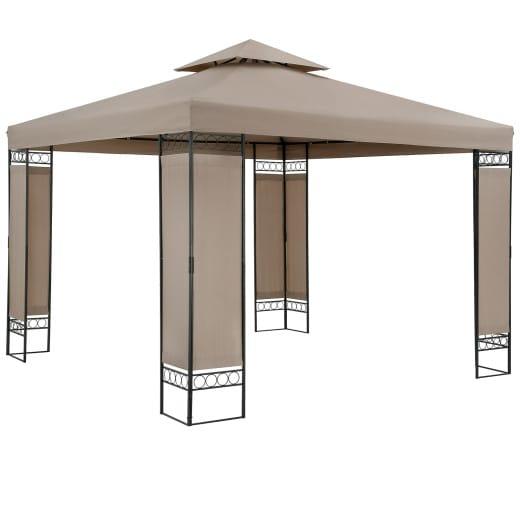Pavillon Lorca Taupe 3x3m