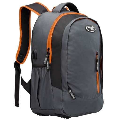 Sportrucksack 35l grau/orange