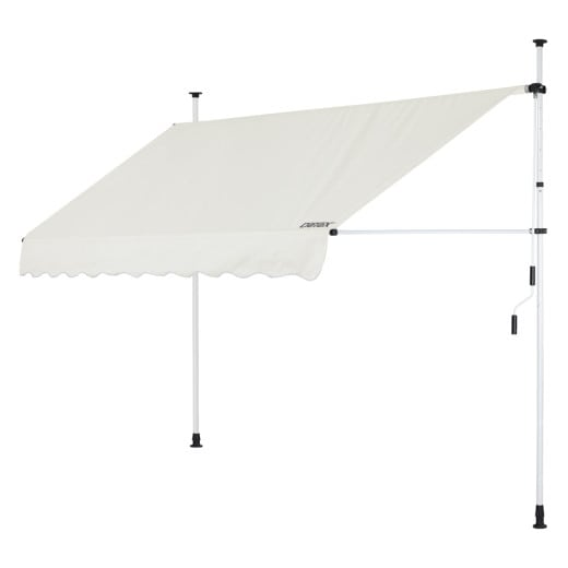 Clamp Awning Beige 8ft