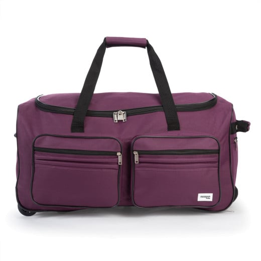Rollenreisetasche Violett 85L