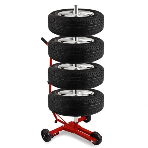 Fahrbarer Alu Felgenbaum bis 225er Reifen