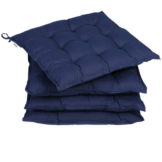 Sitzkissen 4er-Set Cozy Blau