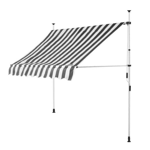Clamp Awning White/Grey 6.5ft